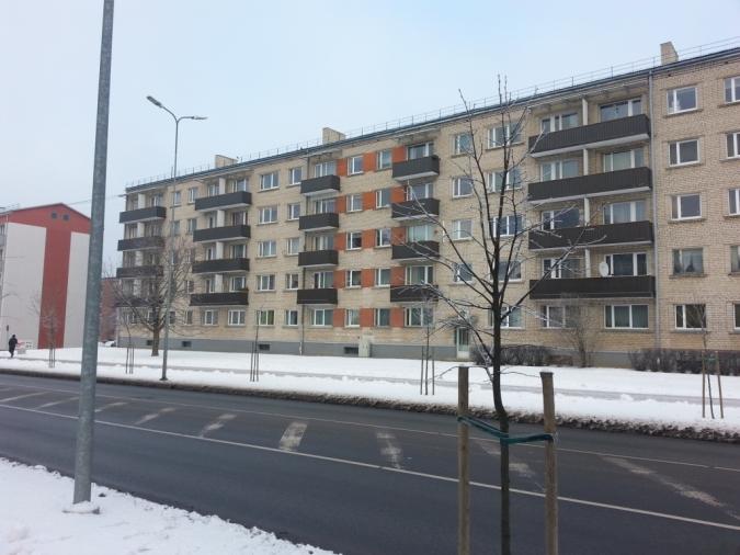Balkonu renovācija Stacijas ielā 23, Valmierā